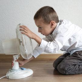 Solar heating enhances air quality in schools
