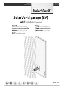 Ventilation Garage Standard Manual Solarventi